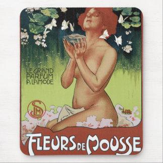 Fleurs de Mousse Mouse Pad