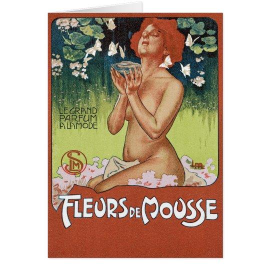 Fleurs de Mousse note card