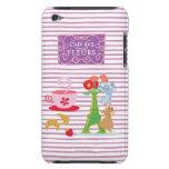 Fleurs del DES del café iPod Touch Case-Mate Cobertura