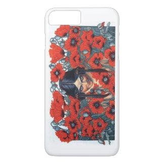 fleurs du mal destruction iPhone 8 plus/7 plus case
