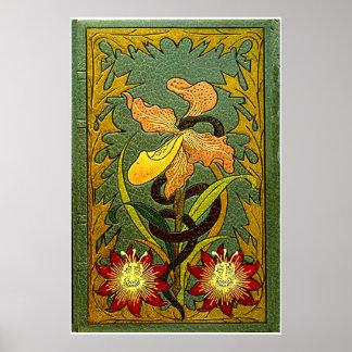 Fleurs du Mal - primera edición Póster
