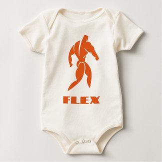 Flex Bodybuilding Baby Bodysuit