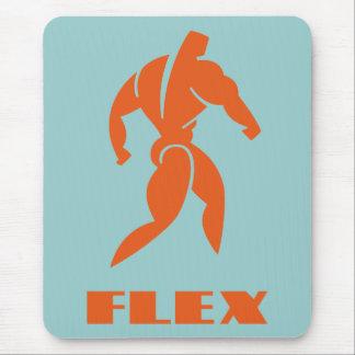 Flex Bodybuilding Mouse Pad