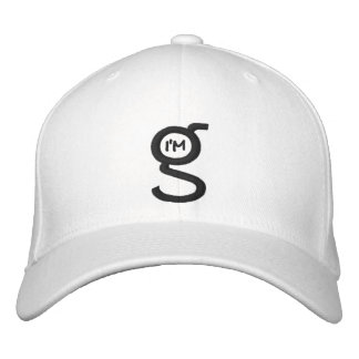 Flex Fit Cap w I'm G Logo Embroidered Hat