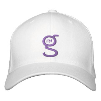 Flex-Fit Cap w I'm G Logo Embroidered Hat