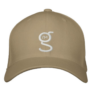 Flex Fit Cap w I'm G Logo Embroidered Hats