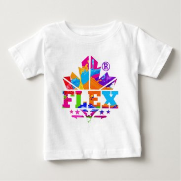 Beach Themed FLEX YELLOW BABY T-Shirt