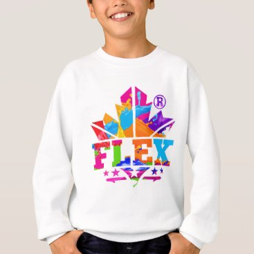 Beach Themed FLEX YELLOW SWEATSHIRT