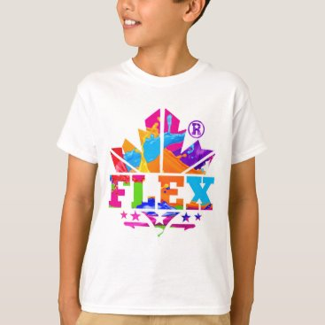Beach Themed FLEX YELLOW T-Shirt