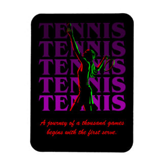 Flexi Magnet Women's Tennis 1  Purple Dark