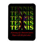 Flexi Magnet Women's Tennis 1 YG Dark or Light