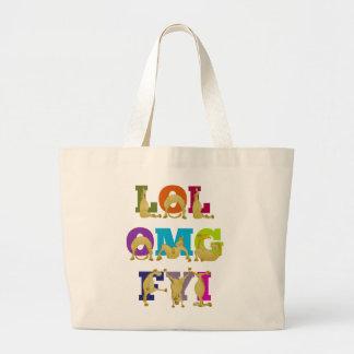 Flexi pony LOL FYI OMG Bag