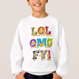 Flexi pony LOL FYI OMG Sweatshirt