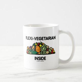 Flexi-Vegetarian Inside (Pile Of Vegetables) Coffee Mug