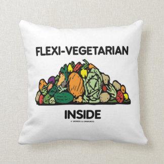 Flexi-Vegetarian Inside (Pile Of Vegetables) Pillow