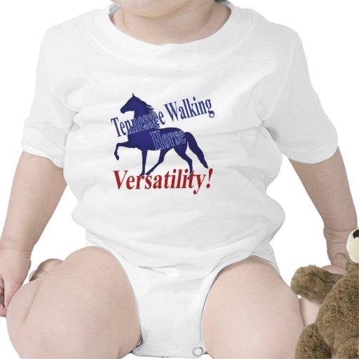 Flexibilidad del caballo de Tennessee que camina Trajes De Bebé