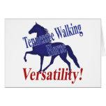Flexibilidad del caballo de Tennessee que camina Felicitaciones