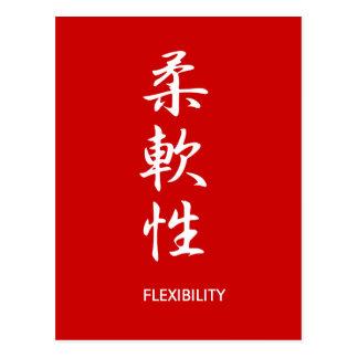Flexibilidad - Juunansei Postal