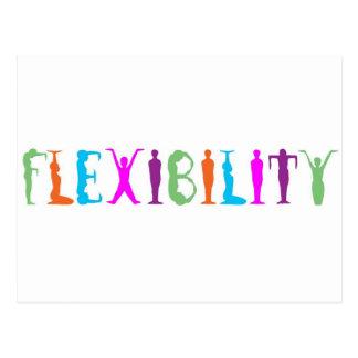 Flexibilidad Tarjetas Postales