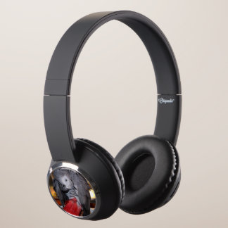 Flexible Congo African Grey Parrot with Red Tail Headphones