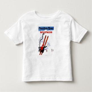 Flexible Flyer Splitkein Wooden Skis Promo Toddler T-shirt