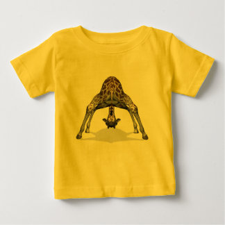Flexible Giraffe Baby T-Shirt