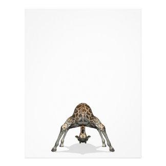 Flexible Giraffe Letterhead