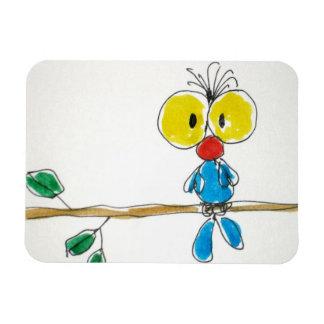 "Flexible magnet ""Small bird""."