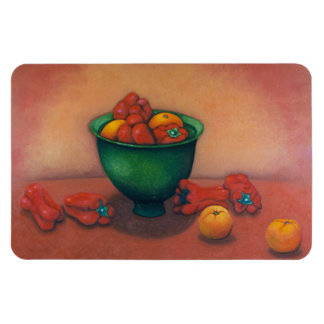 Flexible Magnet Still Life of Tomatoes