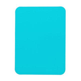 Flexible Magnet with Aqua Blue Background