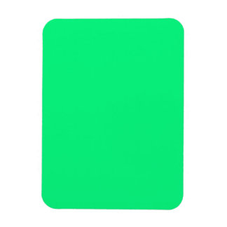 Flexible Magnet with Bright Green Background
