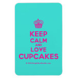 [Cupcake] keep calm and love cupcakes  Flexible magnets