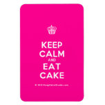 [Cupcake] keep calm and eat cake  Flexible magnets