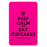 [Cupcake] keep calm and eat cupcakes  Flexible magnets