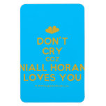 [Two hearts] don't cry coz niall horan loves you  Flexible magnets