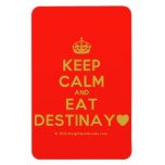 [Crown] keep calm and eat destinay♥  Flexible magnets