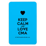 [Love heart] keep calm and love cma  Flexible magnets