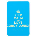 [Crown] keep calm and love coboy junior  Flexible magnets