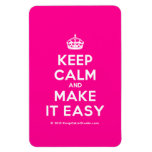 [Crown] keep calm and make it easy  Flexible magnets