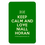 [UK Flag] keep calm and love niall horan  Flexible magnets