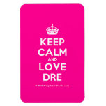 [Crown] keep calm and love dre  Flexible magnets