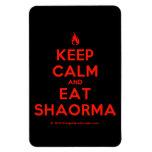 [Campfire] keep calm and eat shaorma  Flexible magnets