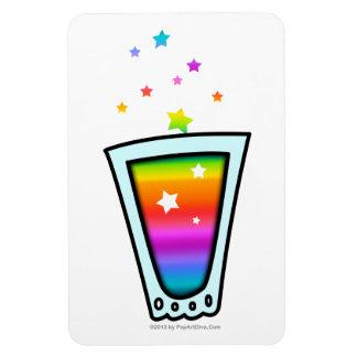 FLEXIBLE MAGNETS - RAINBOW SHOT GLASS