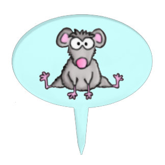 Flexible Mouse Cake Topper