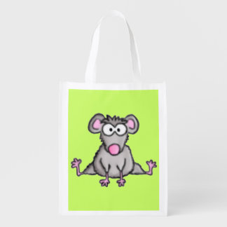 Flexible Mouse Reusable Grocery Bags