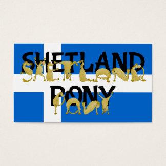 Flexible Ponies - Shetland Business Card