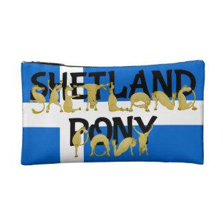 Flexible Ponies - Shetland Cosmetic Bag