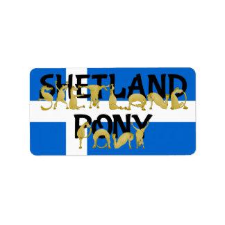 Flexible Ponies - Shetland Label