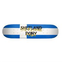 Flexible Ponies - Shetland Skateboard
