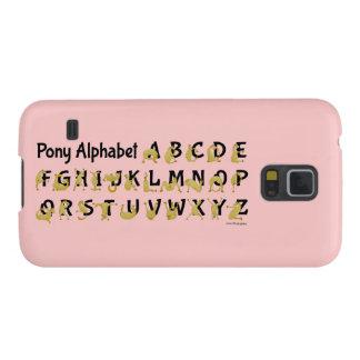 Flexible Pony | Alphabet Chart Galaxy S5 Cover